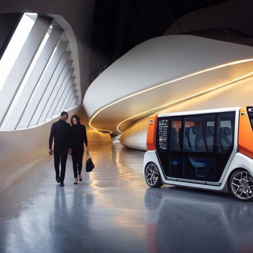 Rinspeed MetroSnap   les photos officielles de la navette autonome