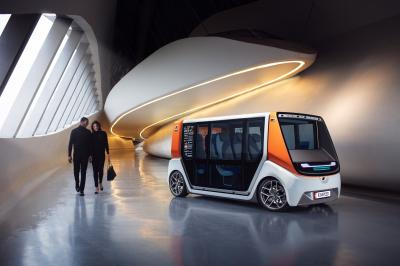 Rinspeed MetroSnap | les photos officielles de la navette autonome
