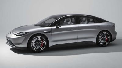 Sony Vision-S | Les photos de la voiture électrique dévoilée au CES 2020