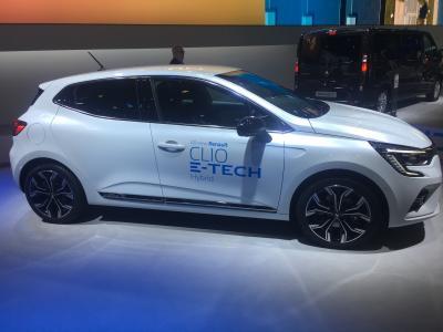 Renault Clio E-Tech | nos photos au Brussels Motor Show 2020