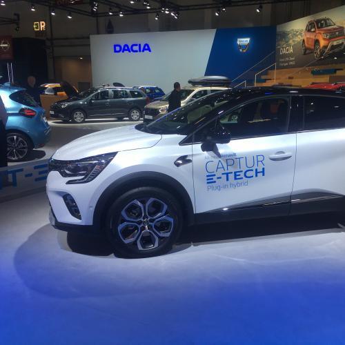 Renault Captur E-Tech | nos photos au Brussels Motor Show 2020