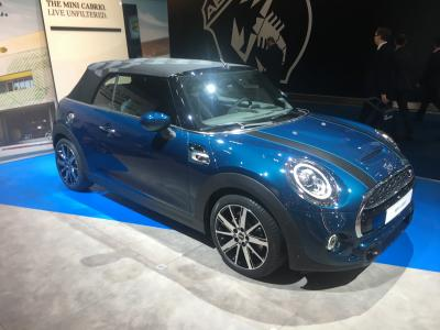 Mini Sidewalk Cabriolet | nos photos au Brussels Motor 2020