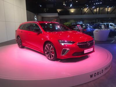 Opel Insignia   nos photos au Brussels Motor Show 2020