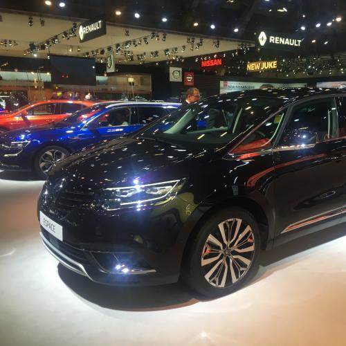 Renault Espace restylé | nos photos au Brussels Motor Show 2020