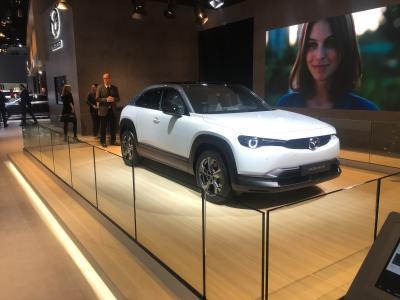 Mazda MX-30 | nos photos au Brussels Motor Show