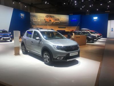 Dacia | nos photos du stand au Brussels Motor Show 2020