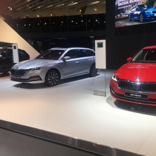 Skoda Octavia & Octavia Combi | nos photos au Brussels Motor Show 2020