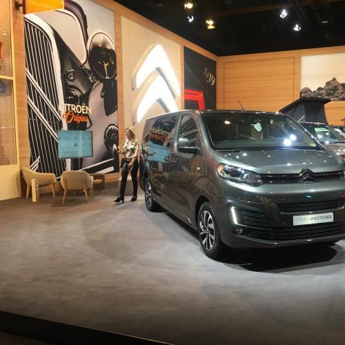 Citroën SpaceTourer   nos photos du van familial au Brussels Motor Show 2020