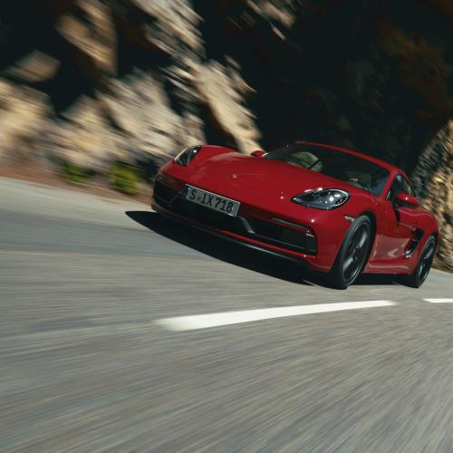 Porsche 718 Cayman GTS 4.0   les photos officielles du Coupé et Boxster