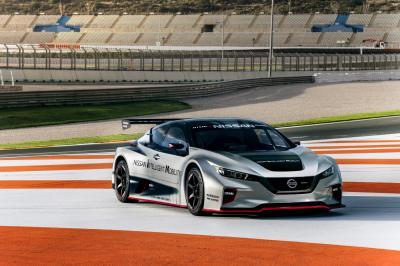 Nissan Leaf Nismo RC | les photos officielles du proto de course