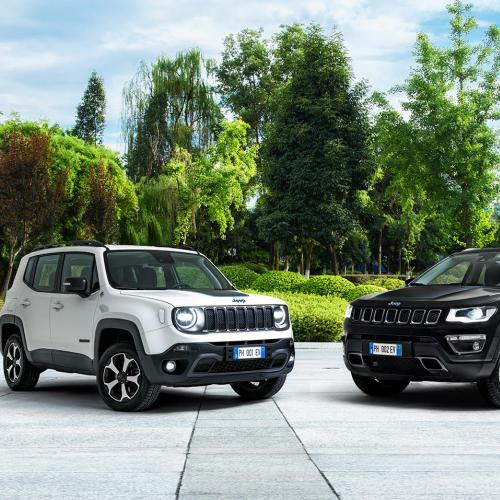 Jeep Renegade et Compass 4xe | Les photos des SUV hybrides rechargeables