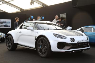 Alpine A110 SportsX | nos photos du concept au Festival Automobile International 2020