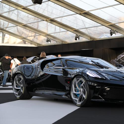 Bugatti la voiture noire | nos photos au Festival Automobile International 2020