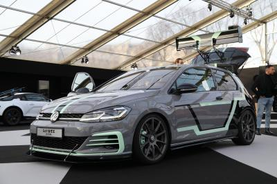 Volkswagen Golf GTI Aurora| nos photos au Festival Automobile International 2020
