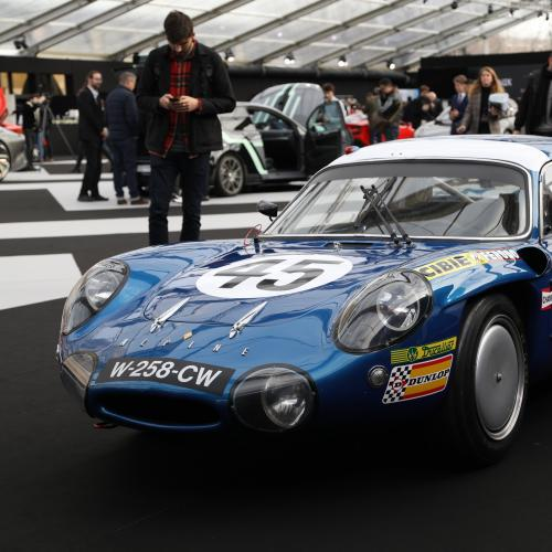Retrospective Alpine| nos photos au Festival Automobile International 2020