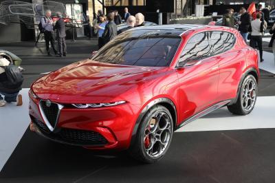 Alfa Romeo Tonale| nos photos au Festival Automobile International 2020