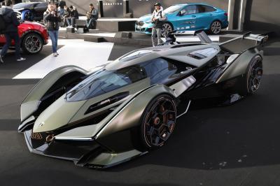 Lamborghini Lambo V12 Vision Gran Turismo| nos photos au Festival Automobile International 2020