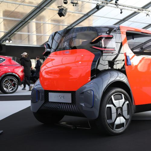 Citroen AMI One Concept| nos photos au Festival Automobile International 2020
