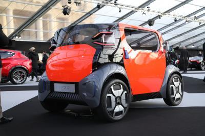 Citroen AMI One Concept| nos photos au Festival Automobile International 2020