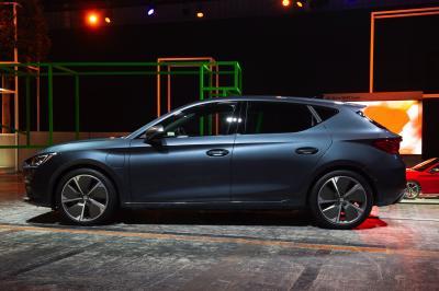 Seat Leon Compacte Grise PHEV