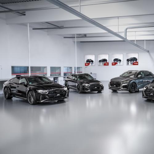 La famille Audi RS par ABT   Les photos officielles des RS4, RS6, RS7 et RSQ8