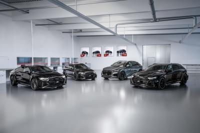 La famille Audi RS par ABT | Les photos officielles des RS4, RS6, RS7 et RSQ8