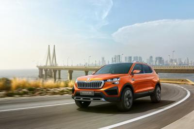 Skoda Vision In | Les photos du concept présenté à l'Auto Expo 2020 de New Delhi