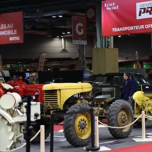 Les tracteurs : au cœur de l'histoire automobile | nos photos de l'exposition au Rétromobile 2020