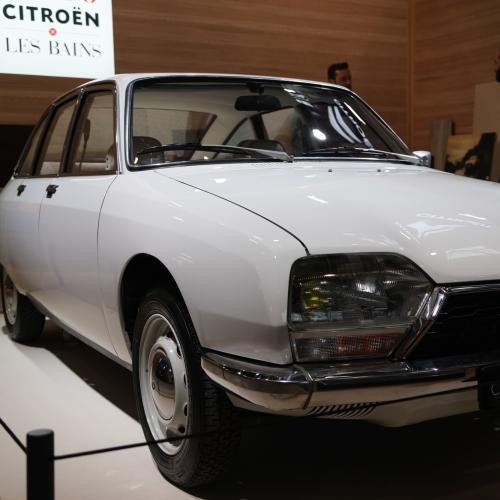 Les 50 ans de la Citroën GS   nos photos des GS et GSA à Rétromobile 2020
