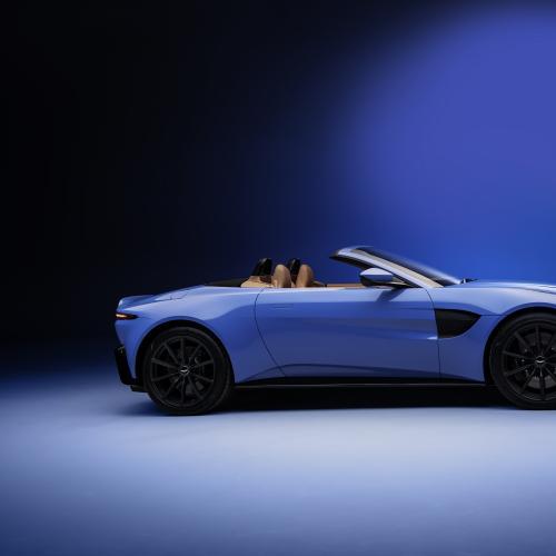 Aston Martin Vantage Roadster   Les photos de la nouvelle sportive britannique découvrable