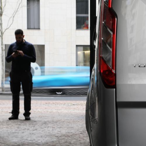 Ford Tourneo Custom | Toutes les photos de notre essai du van à hybridation légère