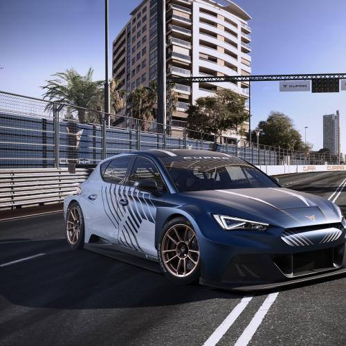 Cupra e-Racer et Leon Competición | Les photos des modèles dédiés à la piste