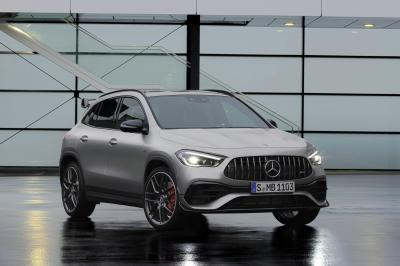 Mercedes GLA 45 et 45 S AMG | Les photos des versions AMG du SUV citadin