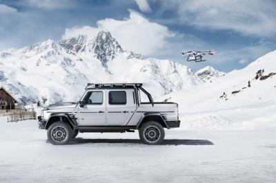Brabus 800 Adventure XLP | Les photos du Classe G 63 AMG converti en pick-up
