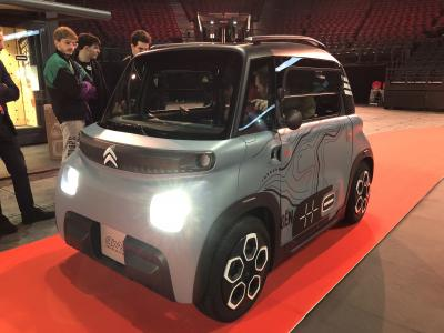 Citroën AMI 100% Electric | nos photos du reveal à la Défense Arena