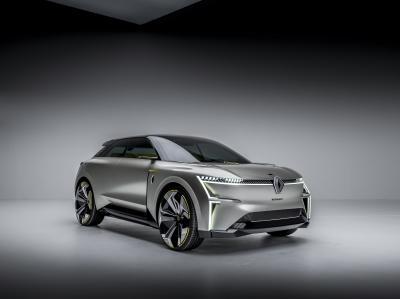Renault Morphoz | les photos officielles du concept 100% électrique
