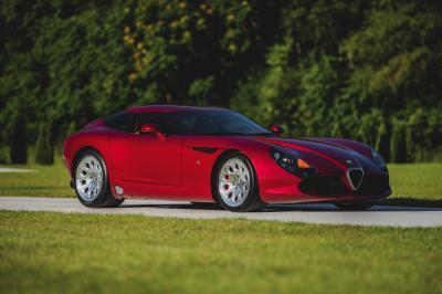 Alfa Romeo TZ3 Stradale by Zagato | Les photos de la sportive proposée par RM Sotheby's