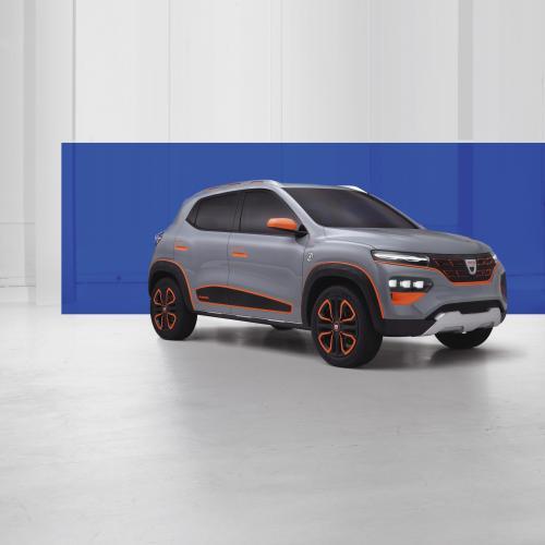 Dacia Spring Electric Concept | Toutes les photos de la citadine surélevée
