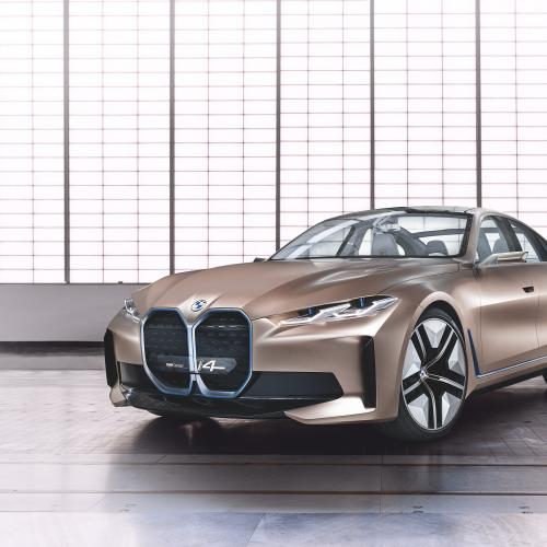 BMW Concept i4 | les photos officielles du coupé 4 portes
