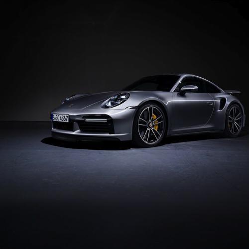Porsche 911 type 992 Turbo S | Les photos officielles du coupé et du Cabriolet hautes performances