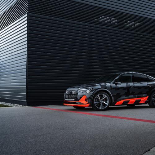 Audi e-tron S Sportback | Les photos des essais du SUV électrique et sportif