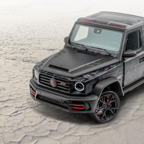 Mansory Pickup Star Trooper   Les photos du Mercedes Classe G transformé