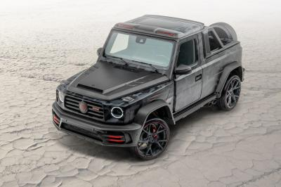 Mansory Pickup Star Trooper | Les photos du Mercedes Classe G transformé