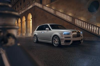 "Rolls-Royce Cullinan by Spofec | Les photos du kit carrosserie ""Overdose"""