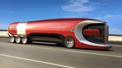 Bugatti Hyper Truck | Les photos du camion futuriste 100% électrique