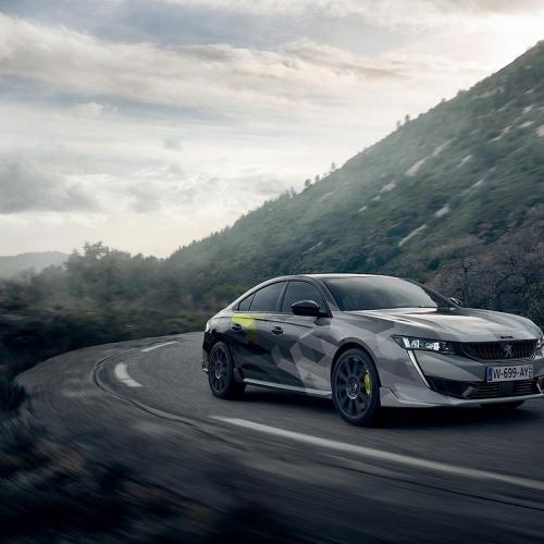 Peugeot 508 PSE | Les photos officielles de la berline sur route ouverte