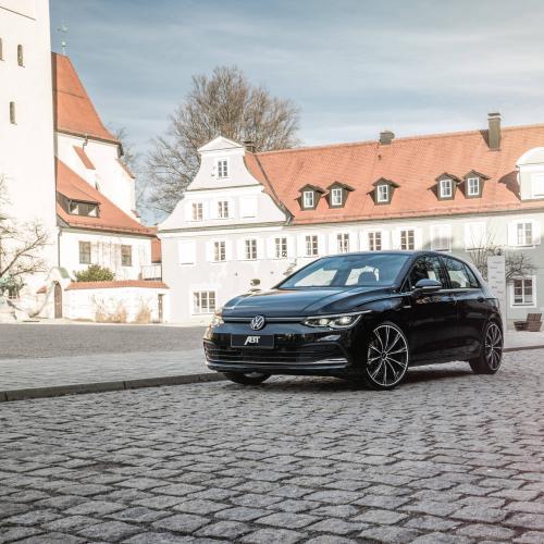 Volkswagen Golf 8 par ABT | Les photos de la compacte rabaissée