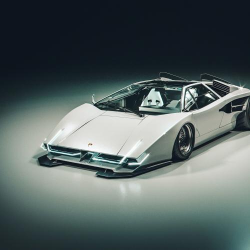 E.V.E. XENOX Countach Drone | Les photos de la Lamborghini du futur