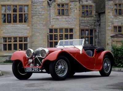 Jaguar SS 100 | Les photos du roadster anglais des années 30