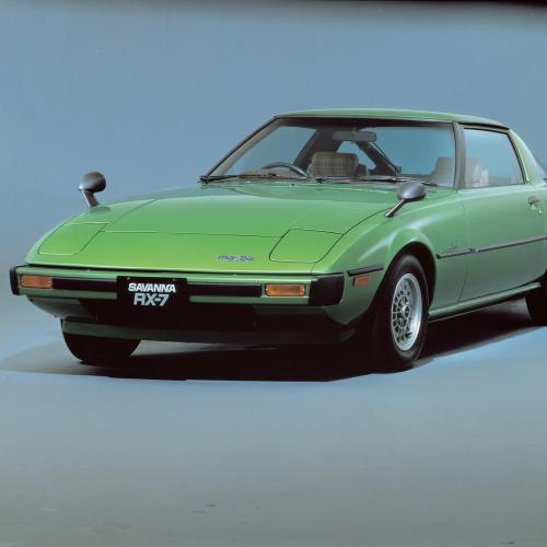 Mazda RX-7 | Les photos des trois générations de sportive à moteur rotatif